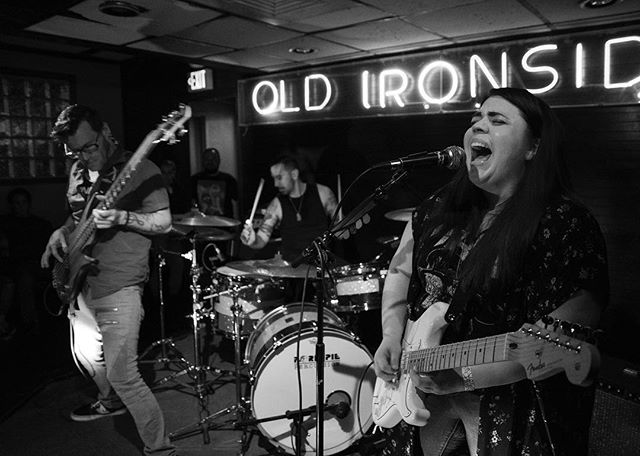 All up IN THE MOMENT in these pics! If you missed our show at Old Ironsides, come make it up to us at our next show on April 24th at Powerhouse Pub in Folsom, Free Show! Thank you @katherineryan_photos for taking these action shots! . . .  Venue @oldironsidesbar  Photographer @katherineryan_photos  #keysandvices #chronicnostalgia #showtime #sacmusicscene #livemusic #stagelife #newmusic