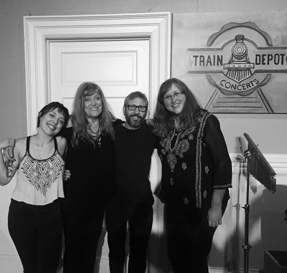 - With Carly Gibson, Caroline Aiken, Eddie Gliken