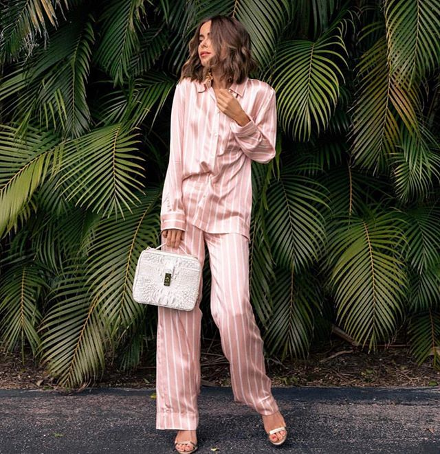 Triple dare you to wear your Pjs. Style blogger: @thestylebungalow