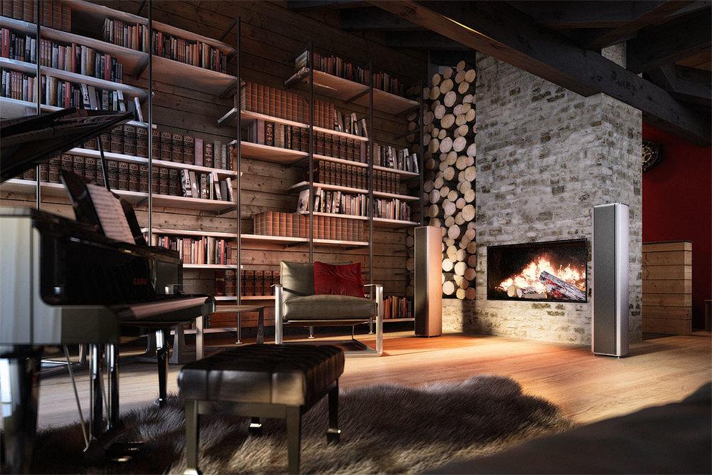 Im leeren Raum schepperts - In grossen und hohen Räumen mit karger Einrichtung sind in der aktuellen Architektur sehr gefragt. Für eine gute Musikwiedergabe sind diese Räume aber eher problematisch.Unser Profi-Tipp: Schaffen Sie Abhilfe mit Regalwänden, Akustik-Vorhängen und Teppichen. Aufwendiger ist der Einbau einer Akustik-Decke. Auch Wände, die nicht parallel zueinander verlaufen, so wie man das in einem Tonstudio sieht, sind akustisch sehr vorteilhaft.