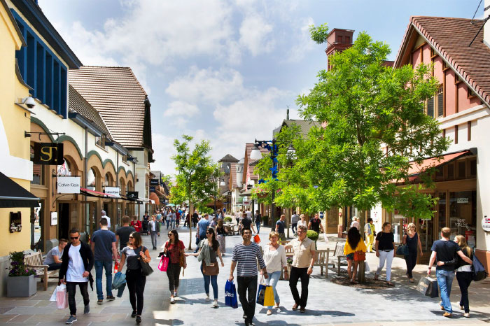 Stadt, Shopping und Wellness -