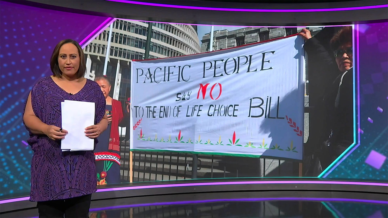 Tagata Pasifika: Pacific opponents of euthanasia Bill rally in the