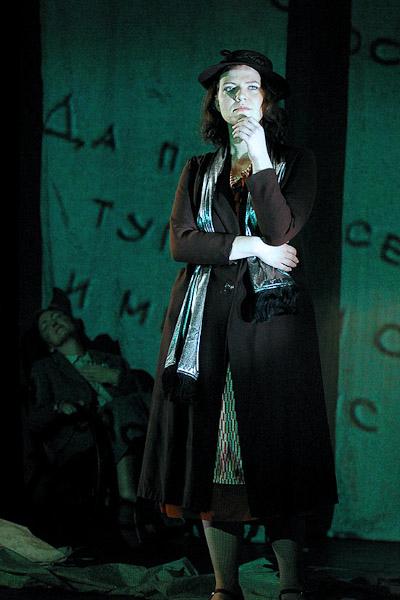 Aile Asszonyi as Zora D. (photo: David Haneke)