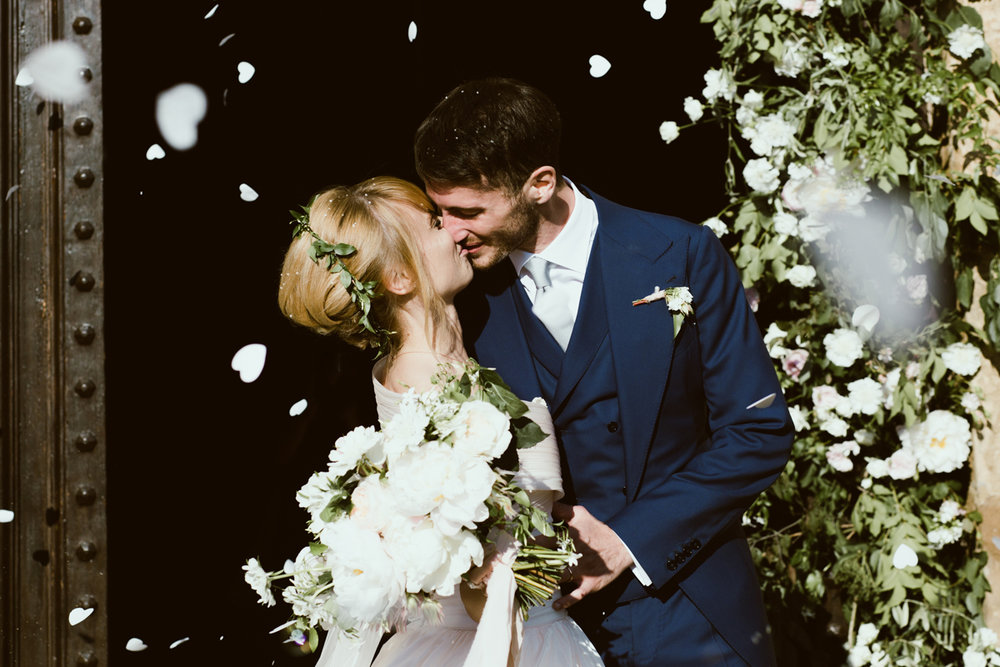 V & A - Wedding in a Tuscan VineyardsTenuta L'Impostino Winery