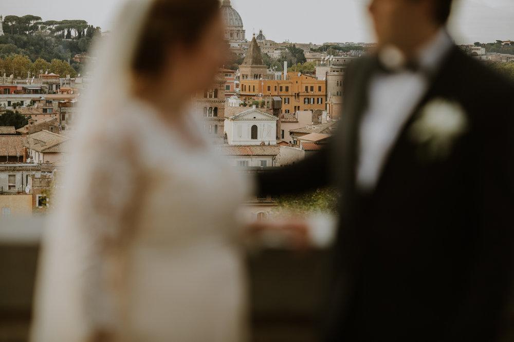 m & S - Wedding in Rome - Giardino degli Aranci