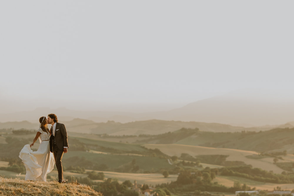 p & F - Wedding in Urbino - Tenuta Santi Giacomo e Filippo