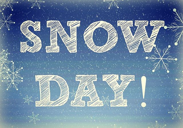 We're closed today, Sunday 12/9,  due to the beautiful snow falling all around. Enjoy it, friends!