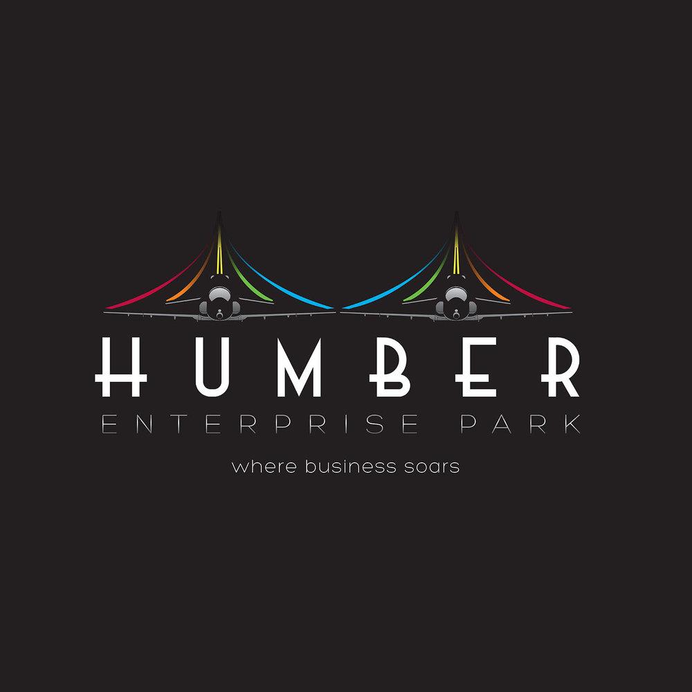 Humber enterprise park brand identity