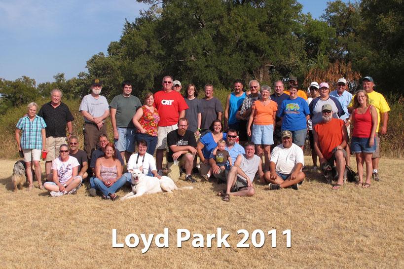 Loyd Park 2011 group.jpg