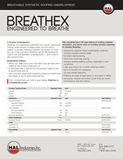 Breathex Specifications PDF