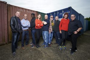 Celebrity STorage Hunters - In 2016 Theo took part in Celebrity Storage Hunters for Charity. He was joined by Vic and Bob,Janet Street Porter, Stephen K Amos and Phil Tufnell to scrap for storage lots, turning any profit over to charity. Although unsuccessful in the bidding - things got heated among the celebrities as they desperately tried to win the unit to make money for their chosen charity. A lot of fun and made for some hilarious viewing! Watch the clip here.