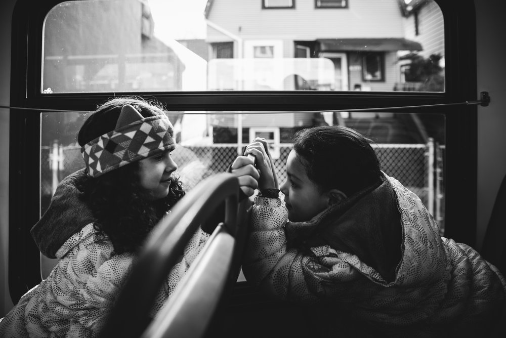 girls at a bus ride. Alicia Mayorca Photography | Chicago Couple + Maternity + Family Photographer.jpg