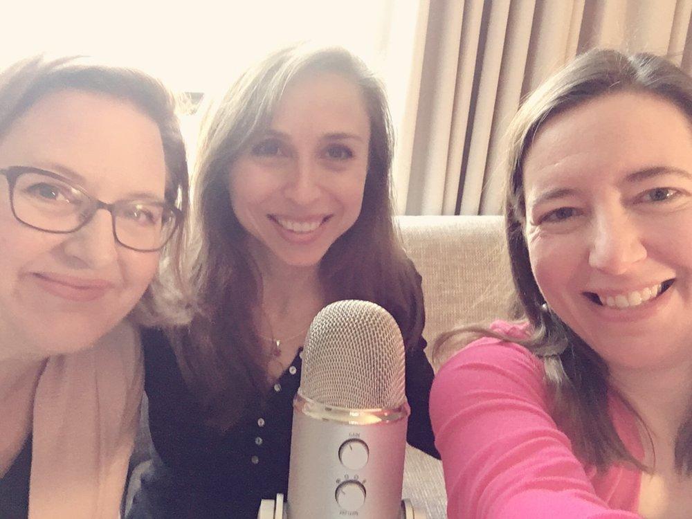 Podcasting selfie!