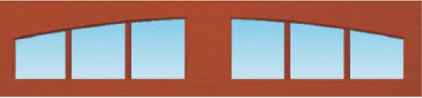 3-Pane Arched
