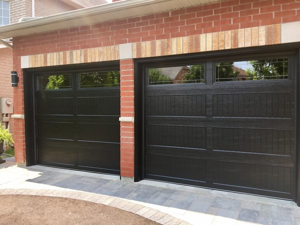 Richards-Wilcox — Premium Recessed Grooved Ranch in Black