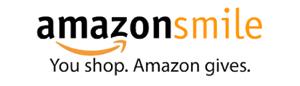 AmazonSmile. You Shop. Amazon gives. logo