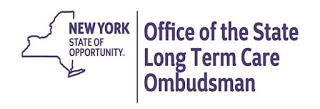 New York State Of Opportunity -- Office of the State Long Term Care Ombudsman logo