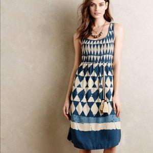 fe3b07d37008 Maeve Silk Castalia Dress - size 6 - Anthropologie