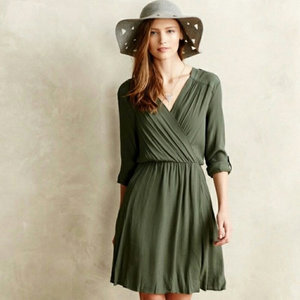 b6efe6d9f530 Maeve Smocked Dress - size Medium - Anthropologie — Flash Mrkt