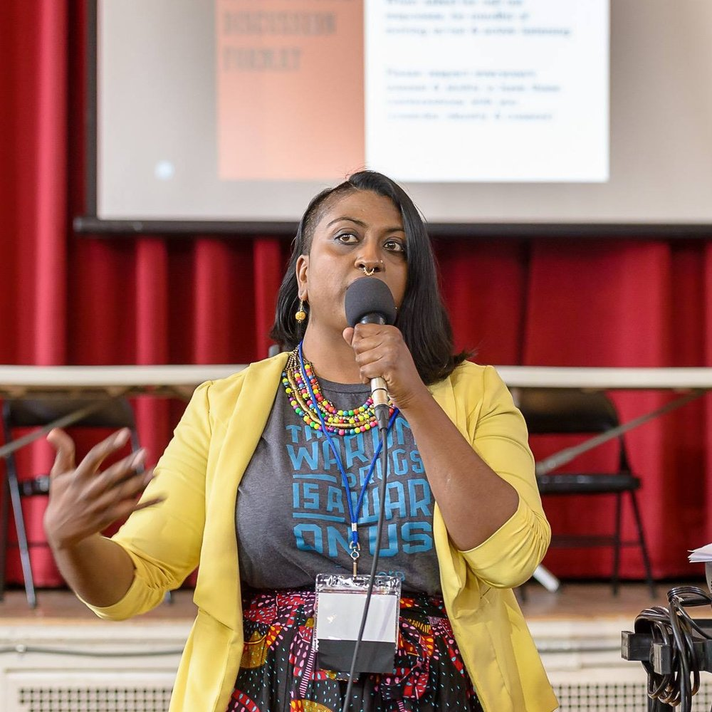 Rajani Gudlavalleti  Consultant, Community Organizer, Writer, speaking at Secular Social Justice 2018