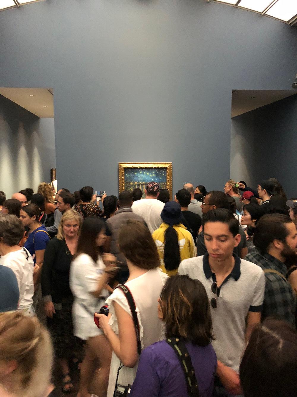 Van Gogh draws crowds at Musee d'Orsay
