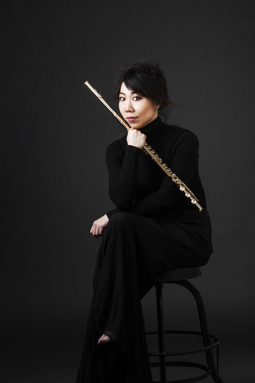 Sooyun Kim, Flute. Photo Credit: Andrew Kim