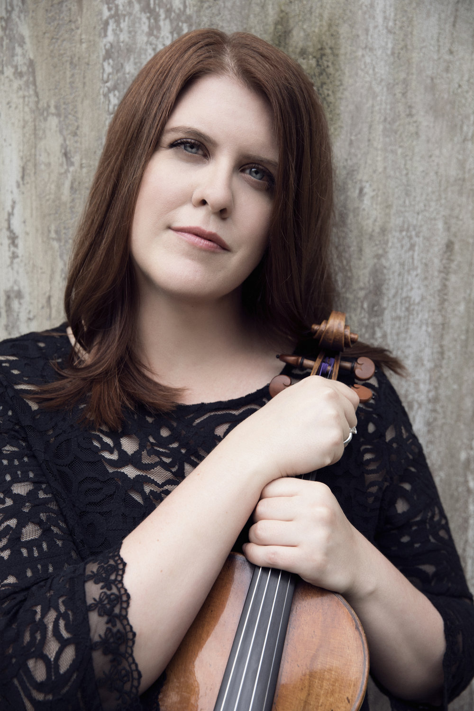 Erin Keefe, Violin. Photo Credit: Lisa-Marie Mazzucco