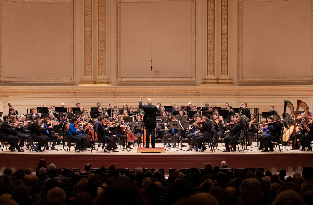 The Orchestra Now at Carnegie Hall. Photo: David DeNee