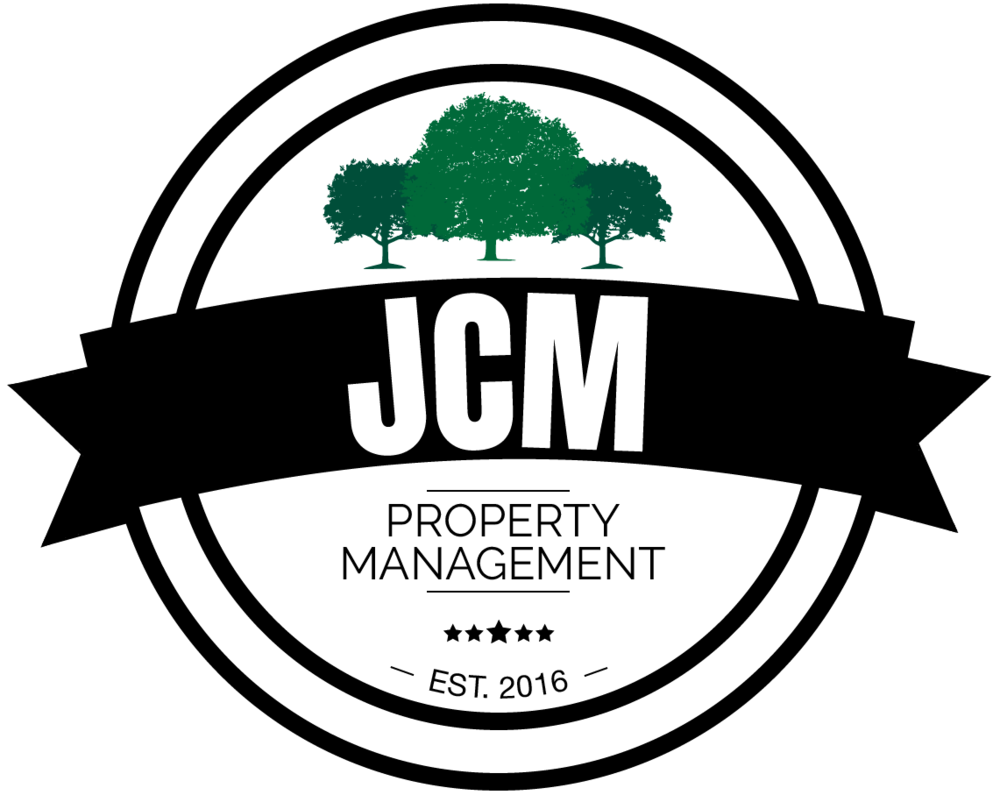 JCM property management - An emblem logo I designed for JCM Property Management, designed similarly to an award to signify award-winning services.