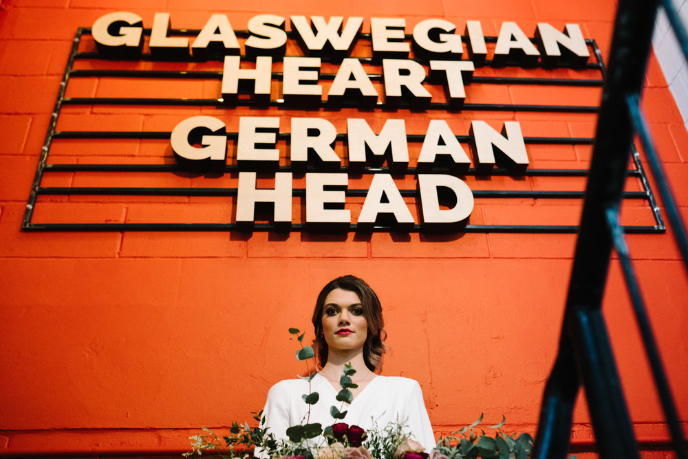 Modern Wedding Inspiration Shoot in Glasgow Brewery With a Frill Installation, Candy Floss and Neon 00180.jpg
