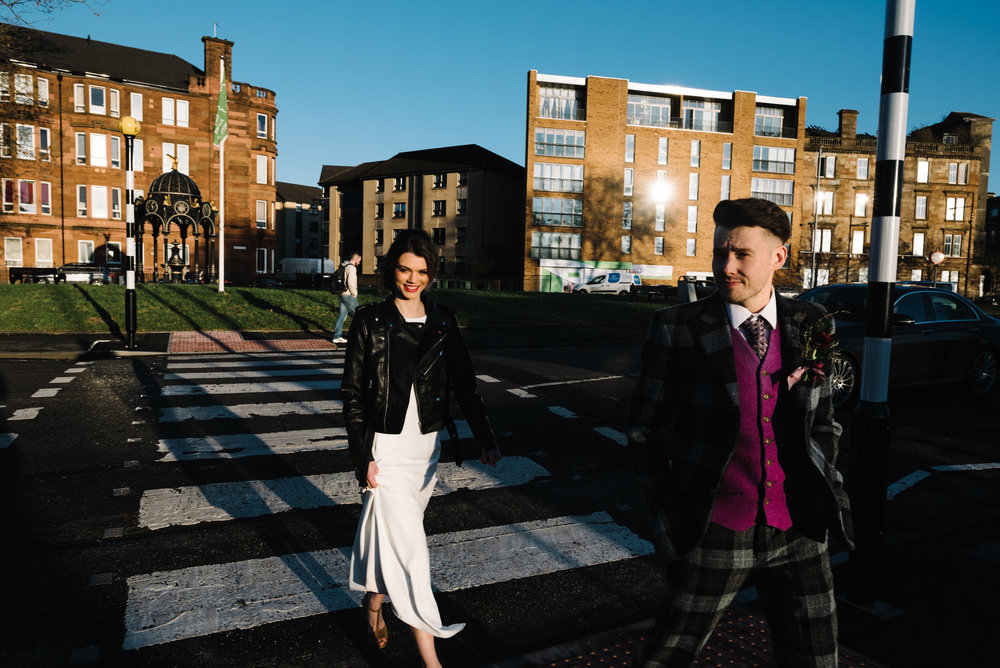 Modern Wedding Inspiration Shoot in Glasgow Brewery With a Frill Installation, Candy Floss and Neon 00302.jpg