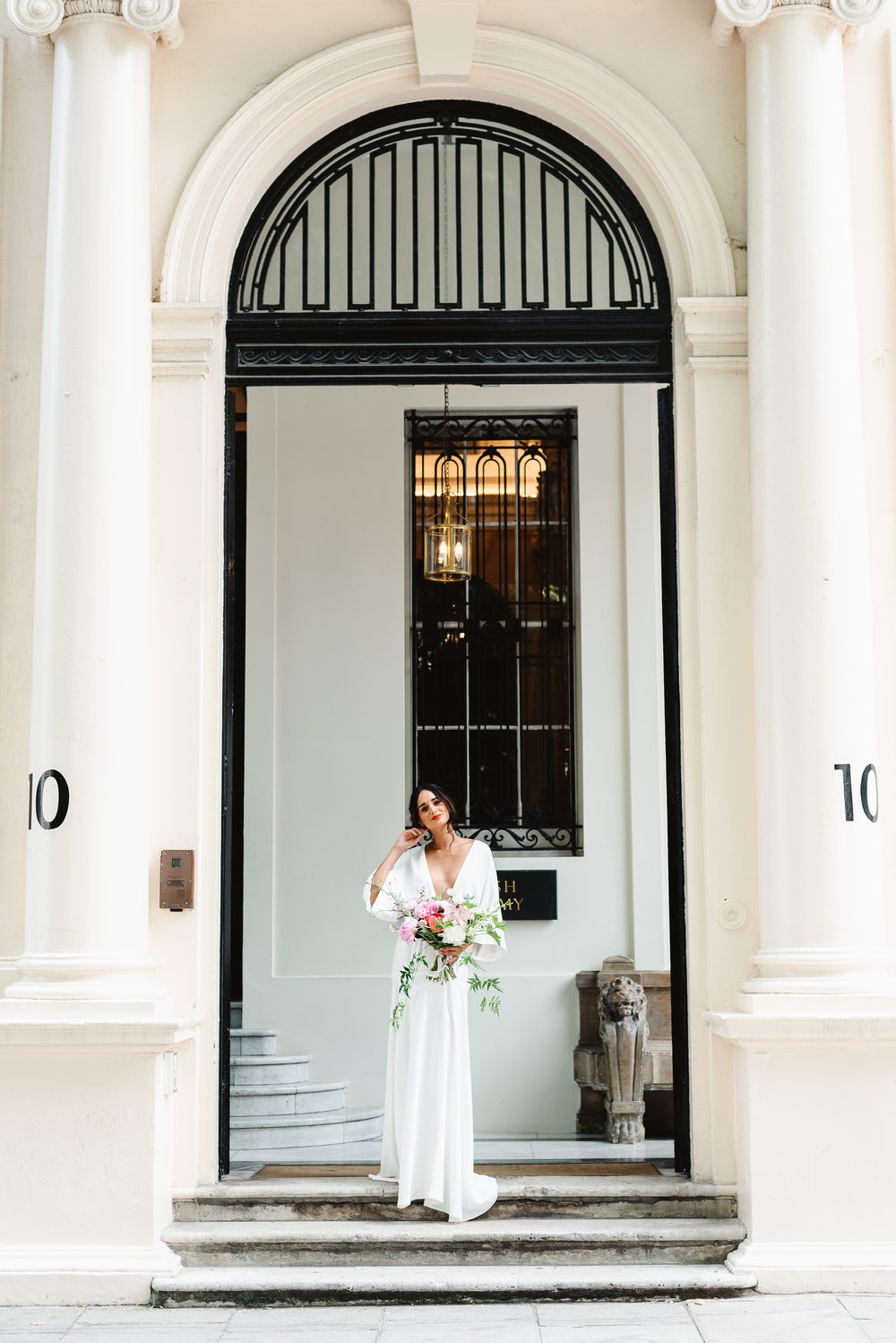Revelry Events Carlton House London Bride Cool Wedding 00020.jpg