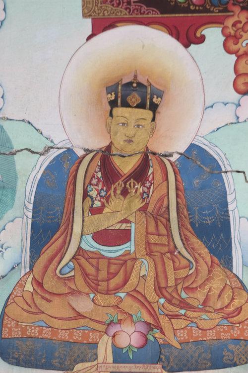 第十六世大寶法王讓炯日佩多傑