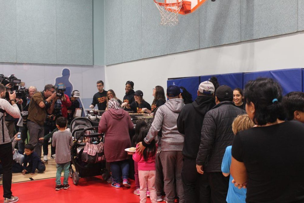 Kyle Lowry Love Foundation Thanksgiving Event - October 7, 2018