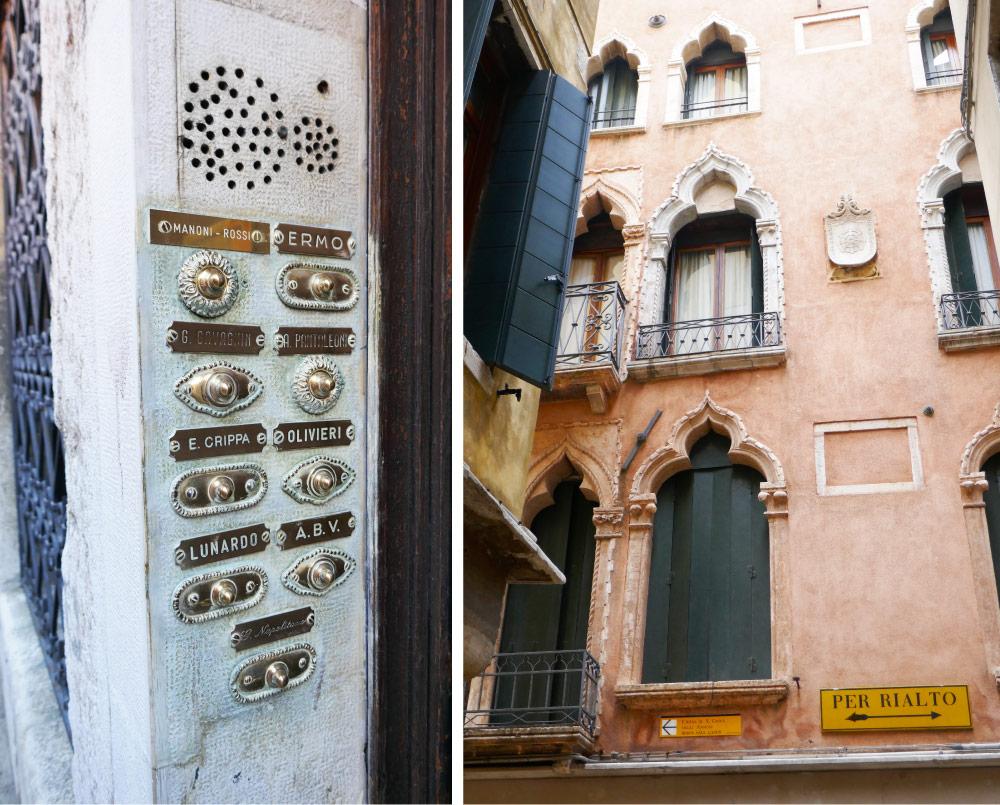 Doorbell Labels & Rialto Bridge Wayfinding