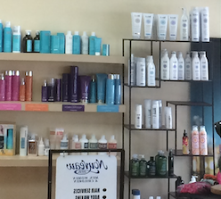Products - We proudly use & stock professional hair care products from Aloxxi, Moroccanoil, Keratherapy, KMS, Lanza and ColorProof.