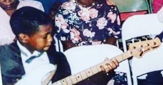 Where it all began         #tbt #imanirecords #jonathanmichel #BAM #bassplayer #ibanez #bowtie #haitianamerican #YGNB #electricbass #nycmusic #blackcreatives #MDR #nycmusicscene #joy