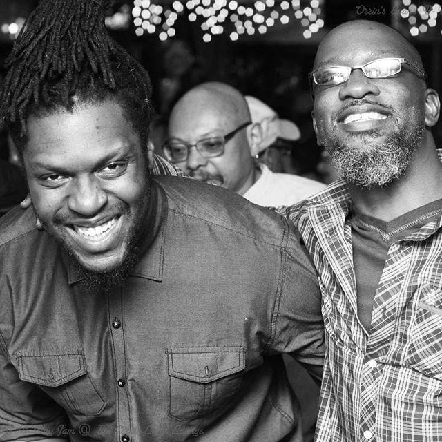iMANi : : : : #happybirthday #orrinevans #imanirecords #philadelphia #mentor #tbt #thebadplus #mdr  #bassplyer #trentonmakestheworldtakes #blackcreatives #ygnb #aries♈️ #captainblackbigband #piano #jonathanmichel #joy