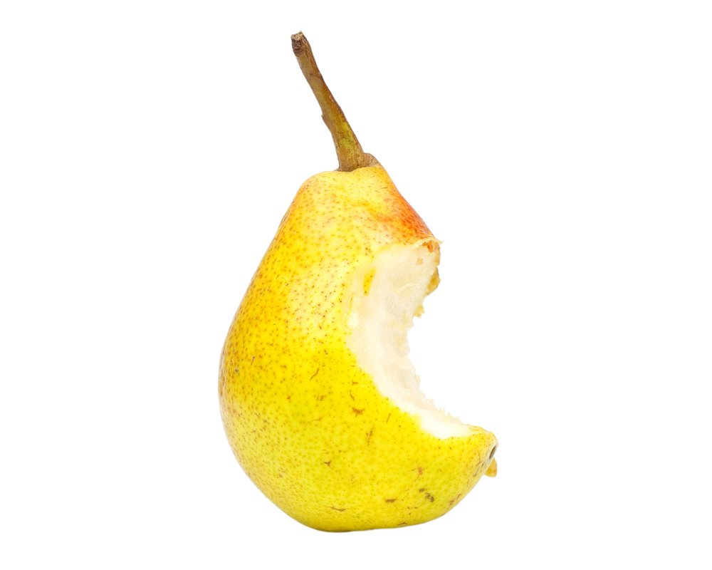 Bitten Pear