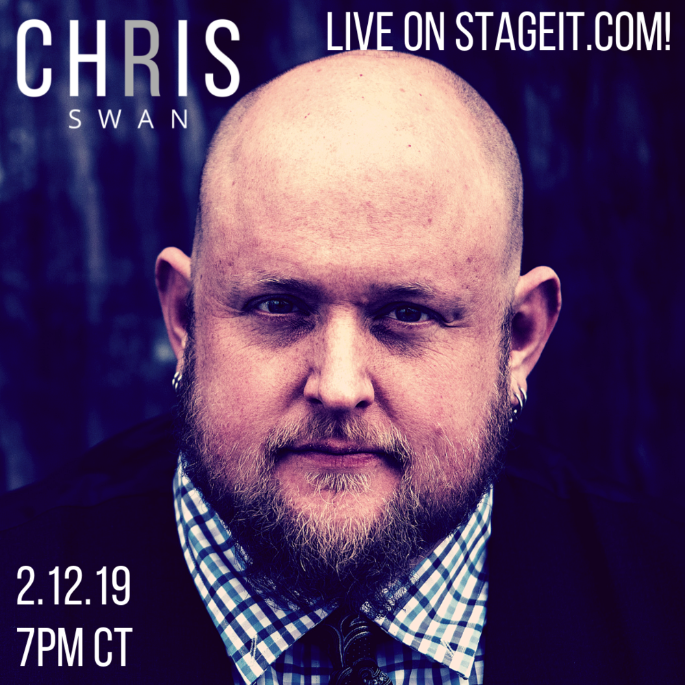 Chris Swan Live on Stageit.com