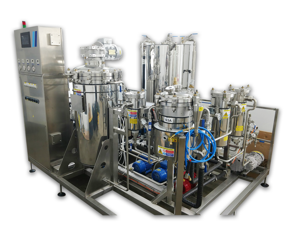FC Extractor Models - Most extraction processes use high heat and/or high pressure to distill the oils of the plant. In doing so, essential qualities of the oil, the terpenes, are burned or blasted away, thus compromising the integrity of the oil. Unlike these common extraction processes, Timatic's equipment and extraction process use low heat and low pressure resulting in purer oils of the highest quality, which are fully ready for creams, lotions, and vape pens.Timatic extraction equipment uses tetrafluoroethane, HFC 134a, as the solvent for extraction. More traditional extraction processes use flammable, volatile solvents like Butane or Ethanol, or require extremely high pressure for the solvent to liquify. These processes often require expensive buildings or remodels that must meet federal and state building codes.HFC 134a extractions use dry or fresh flower or trim and can be performed without any pre-treatment. Consistency of the extracted oil from batch to batch is controlled through a microprocessor, which can be programmed to control the parameters and variables of the extraction. Up to 99 programmed processes are possible with the Timatic microprocessor. The Timatic extraction processes and equipment are truly state of the art and produce a product of the highest quality.