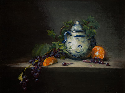 Paul's Oil Paintings - During his fusioneering journey, Paul studied art and learned to paint.