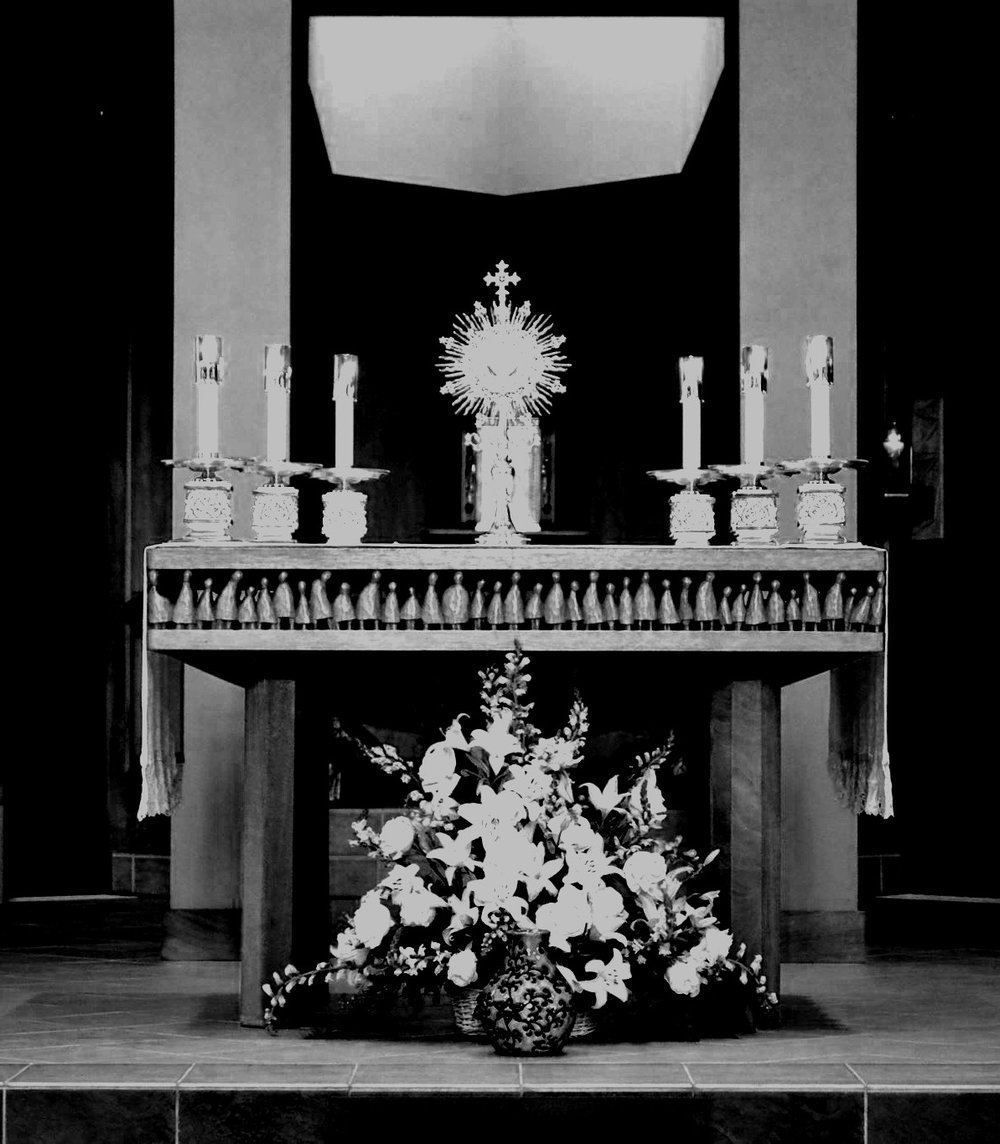 "Adoration - It was wonderful to see the turnout for Eucharistic Adoration on the Solemnity of the Epiphany. I am sure that many graces were received by those who came, following the example of the Magi, and knelt before the Eucharistic King. Our entire parish family is blessed by this prayer and allows our Merciful Lord to bestow His graces on each and every one of us. In light of this, we will have Eucharistic Adoration on the first Sunday of every month from the conclusion of the 11:30am Mass until 4:30pm with benediction before the 5:00pm Mass. ""May God bless us in His mercy!"" (Psalm 67)"