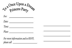 Invite Postcard Back