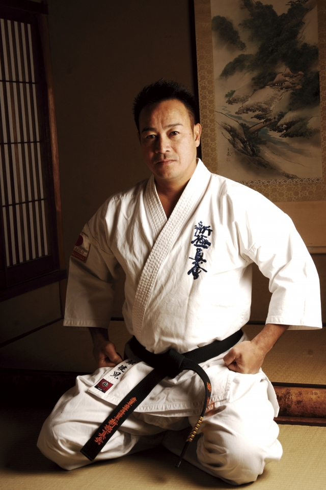 Shihan Kenji Midori, President of World Karate Organization Shinkyokushinkai (WKO)