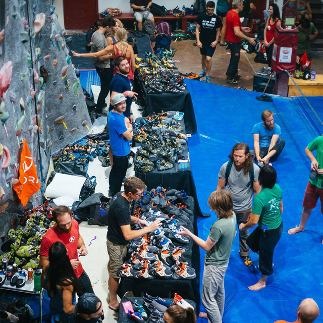 Welcome Back Bash - 2019: August 28 in Boulder2019: Aug 30-Sep 1 in DenverWelcome Back Bash is the perfect way to celebrate the sending season right around the corner. With a giant vendor village with great gear deals and shoe demos from the absolute best brands, you're sure to be ready for that perfect sending weather!