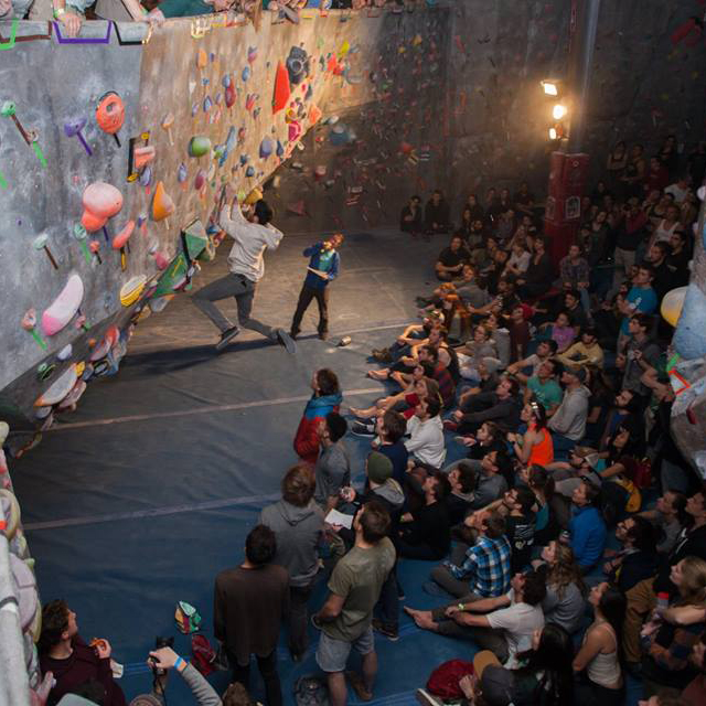 USAC Bouldering - 2019: September 14 in BoulderThe Spot's annual USA Climbing sanctioned regional event, with an additional Spot sanctioned climbing event open to all in the evening.