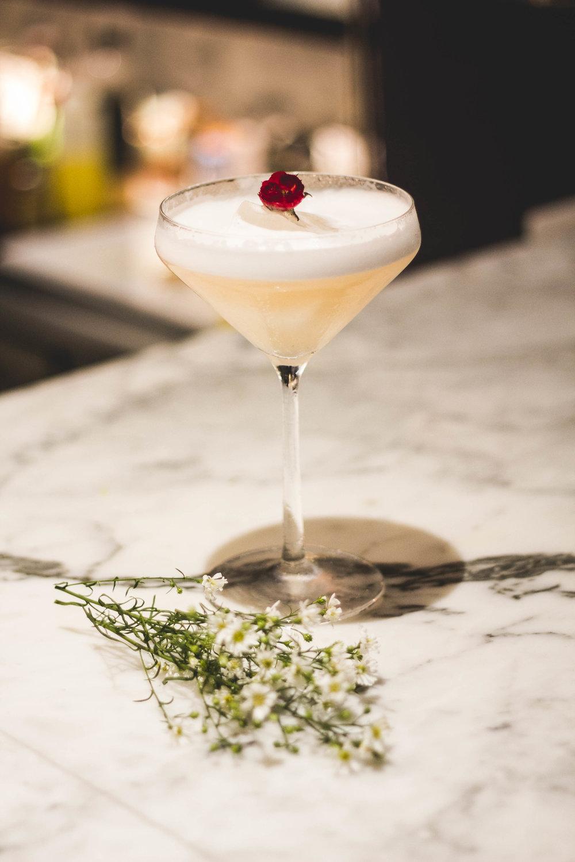 Lemon Grass Martini - Vodka, Lemongrass, St. Germain | 15