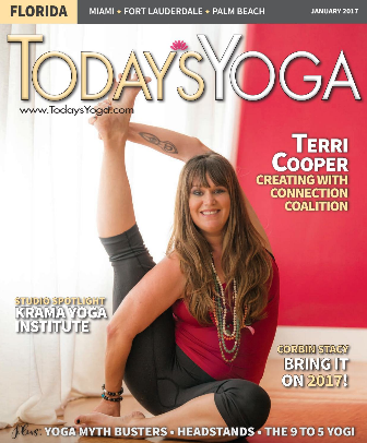 Today's Yoga(January 2017) - Terri Cooper: Creating with Connection Coalition