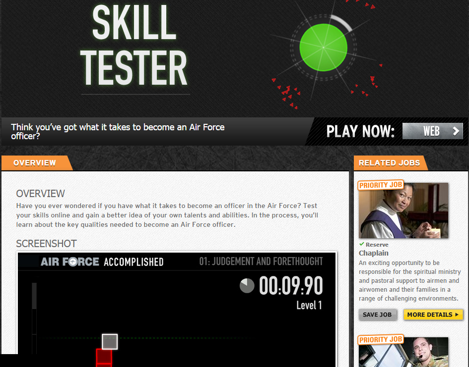 australian-air-force-gamified-app-skill-tester